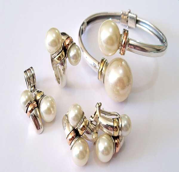 Joyas plata perla oro medellin